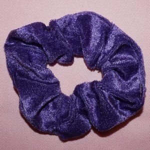 Royal Purple Velvet Scrunchie
